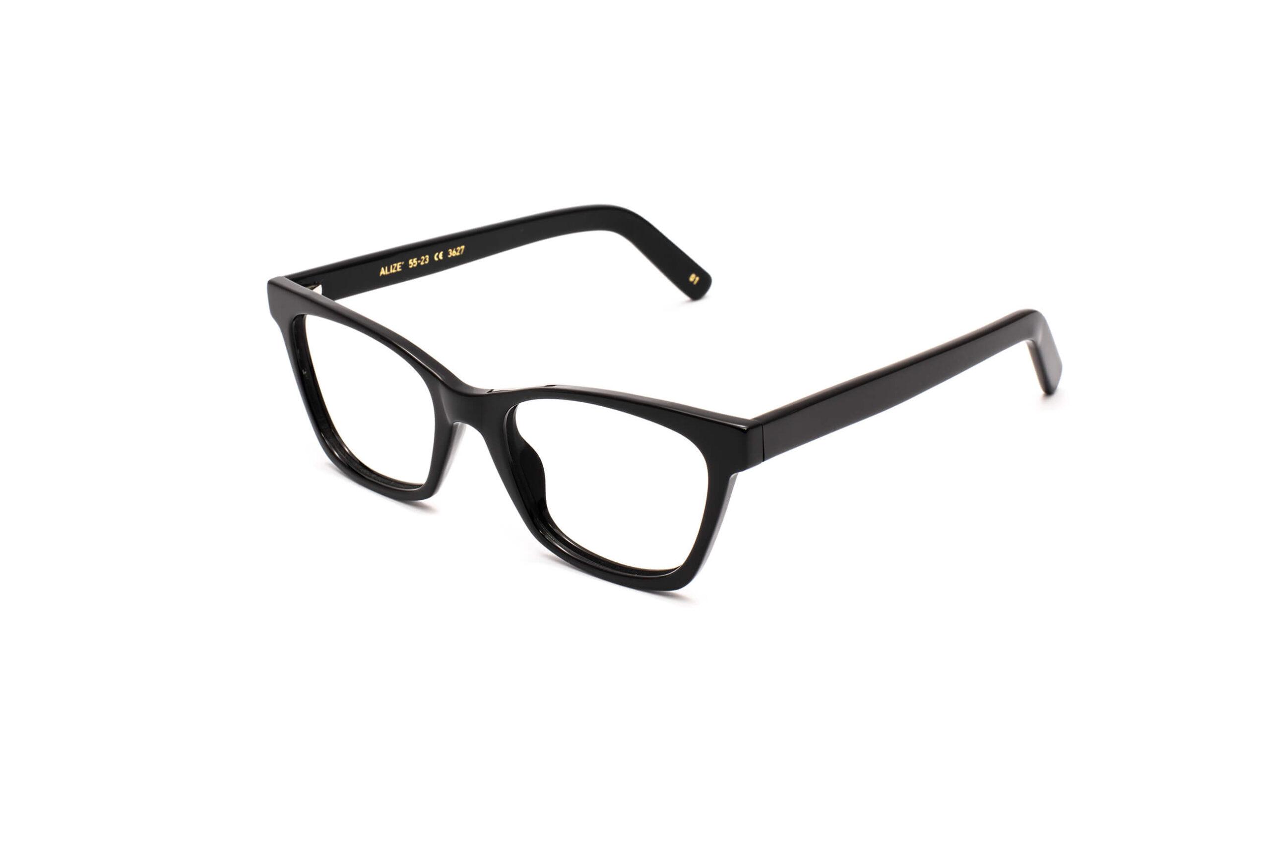 occhiale da vista lgr modello alizè colore nero
