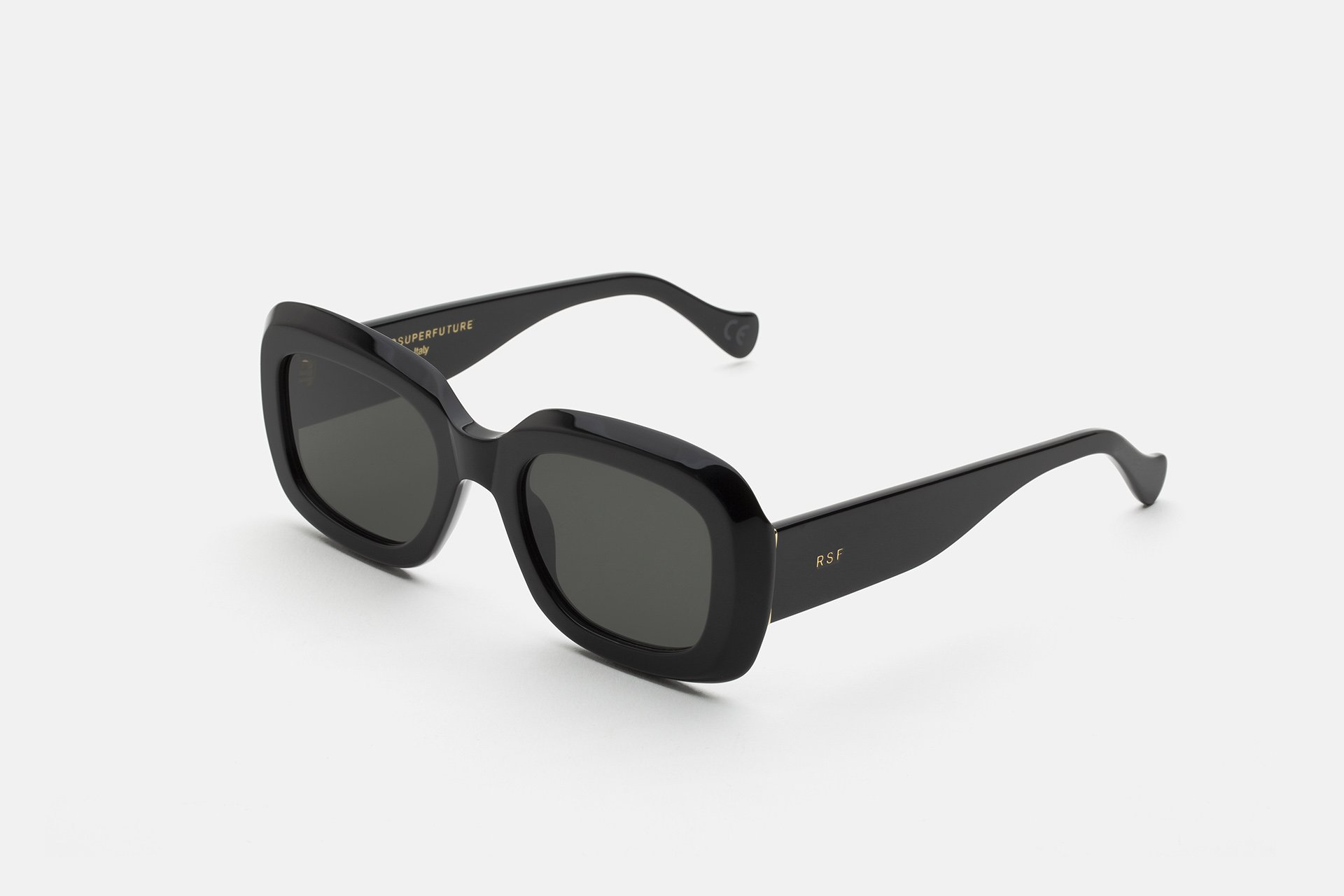 occhiale da sole super modello virgo colore black