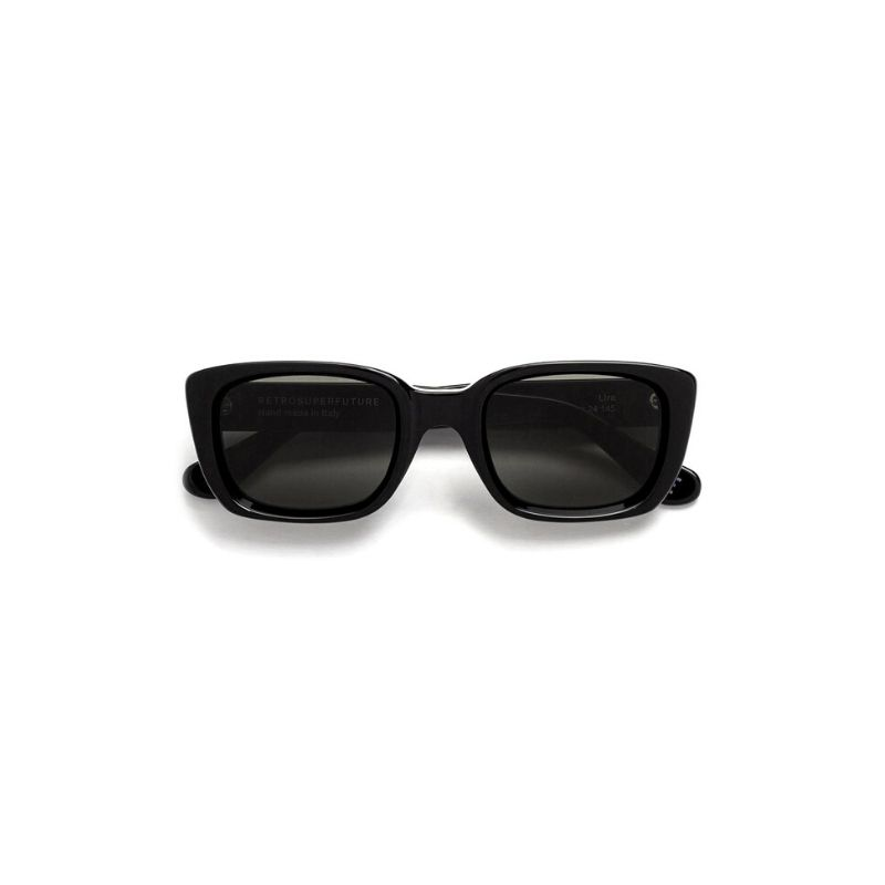 Super sunglasses. Lira frame. Colore black.