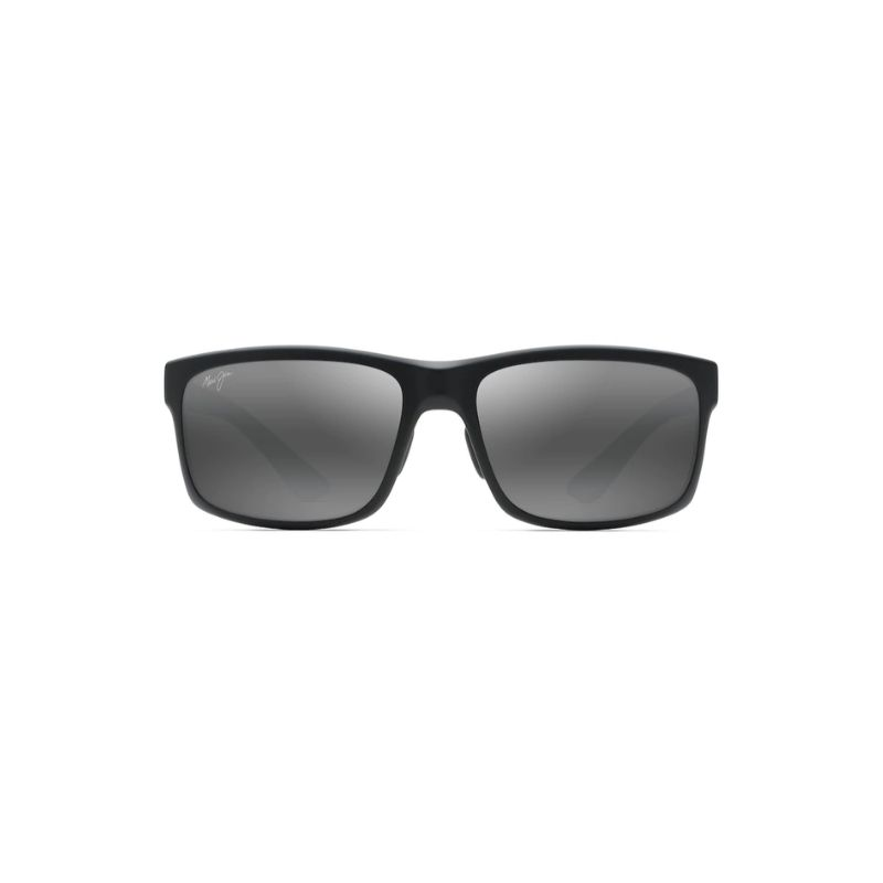 maui jim glasses pokowai arch model black color ottica in vista