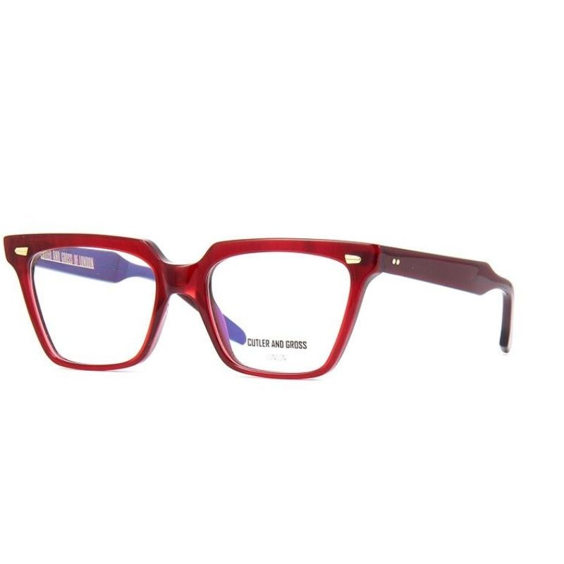 occhiale da vista cutler and gross modello 1346 colore red