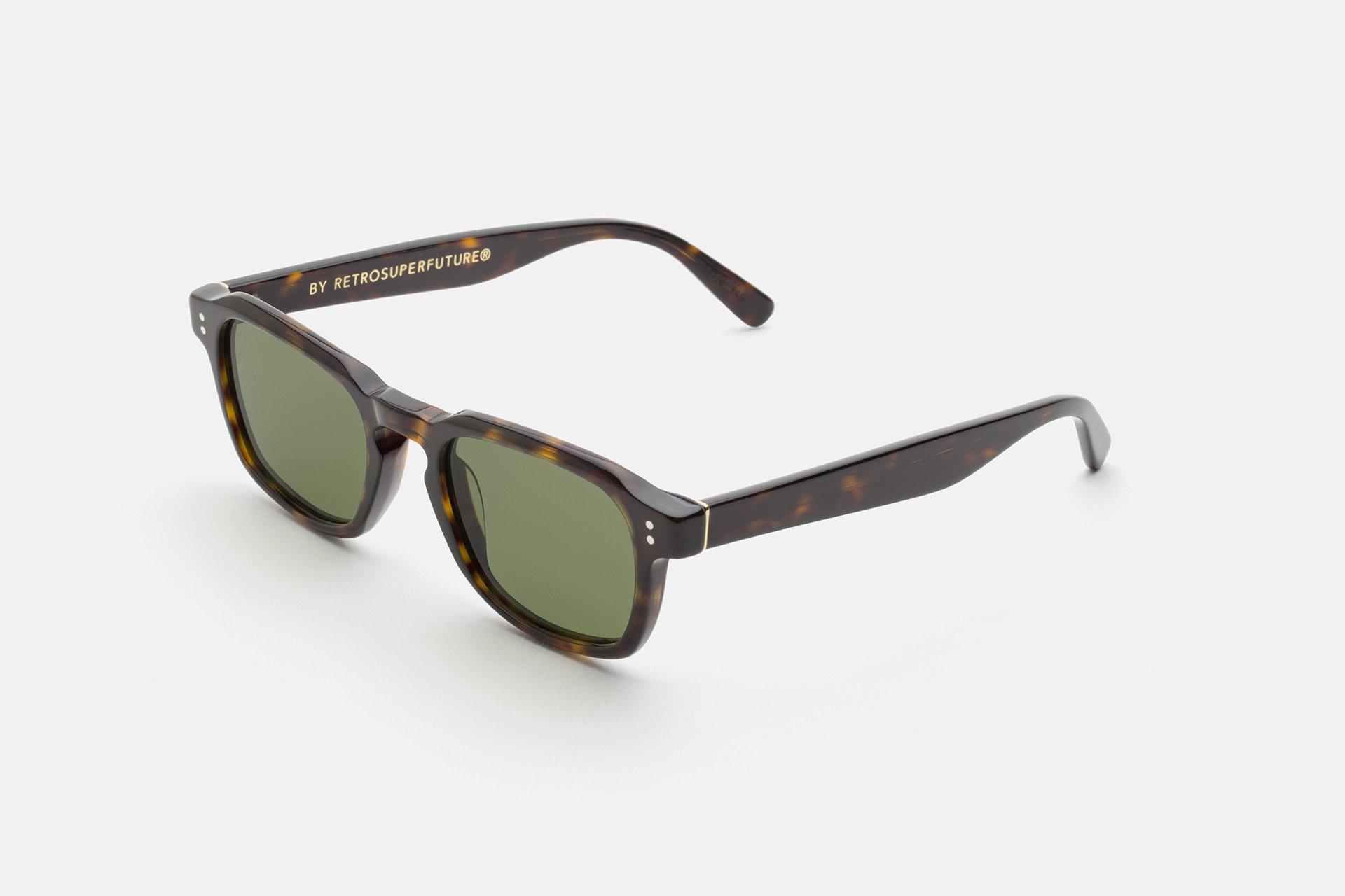 occhiale da sole super modello luce colore havana