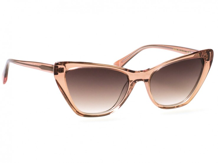 ana hickmann sunglasses model ah9298 transparent pink