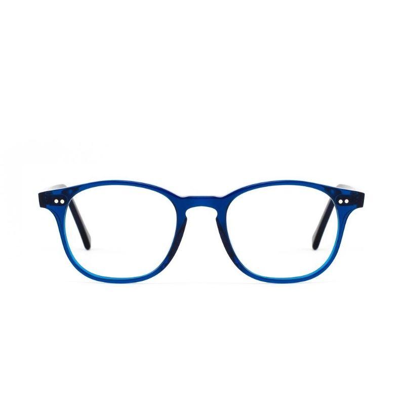 occhiale da vista lgr modello fez colore blu