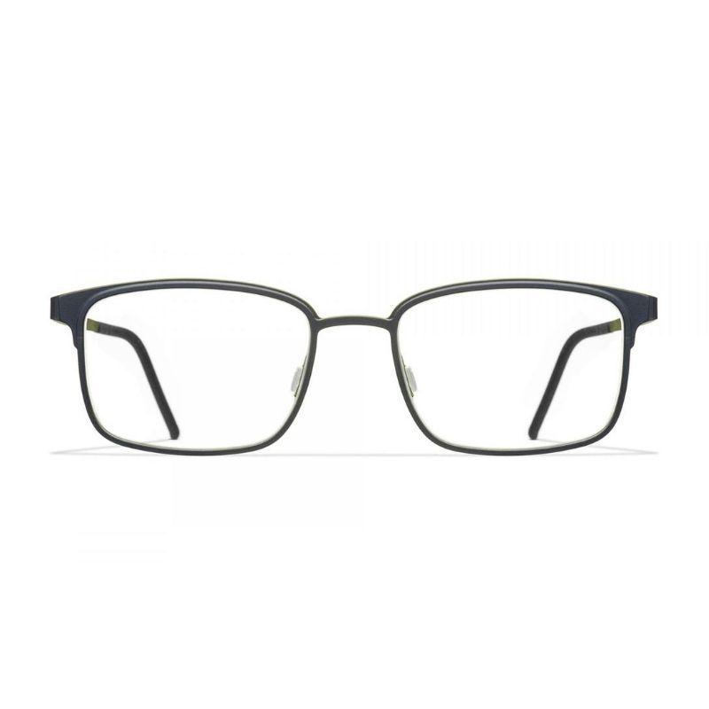 occhiale da vista blackfin modello eastbourne colore nero verde