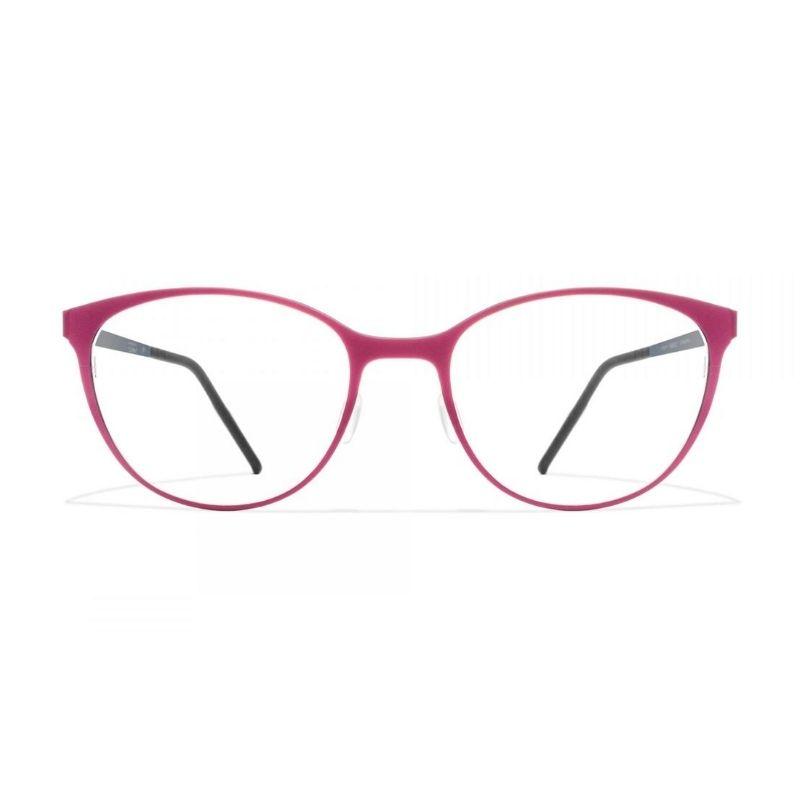 occhiale da vista blackfin modello 808 colore rosso