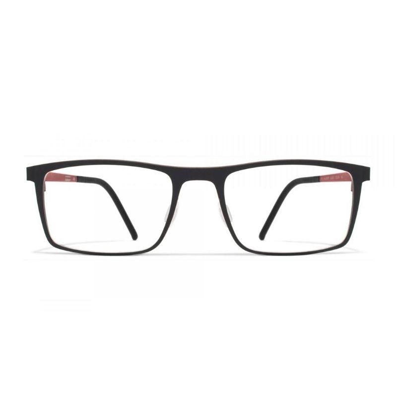 occhiale da vista blackfin mod bf816 colore nerorosso