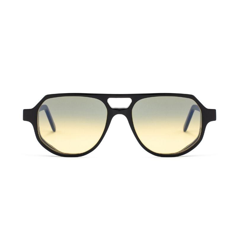 occhiale da sole lgr modello asmara colore nero