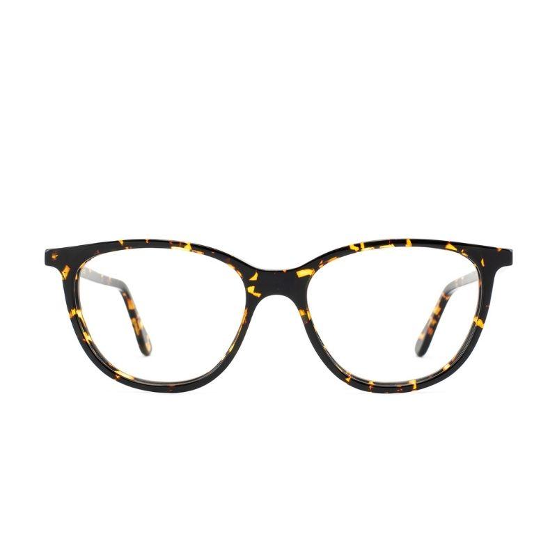 occhiale da vista lgr modello tebe colore havana scuro