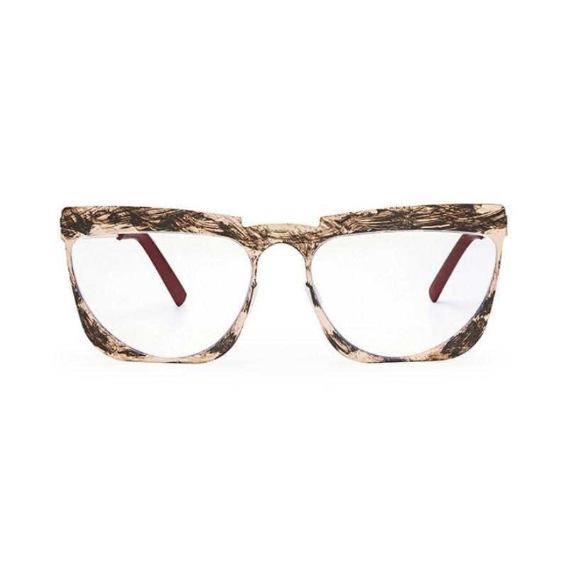 occhiale da vista pugnale modello grintoso colore oro