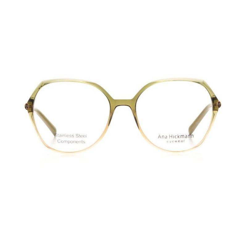 occhiale da vista ana hickmann modello ah6422 colore verde