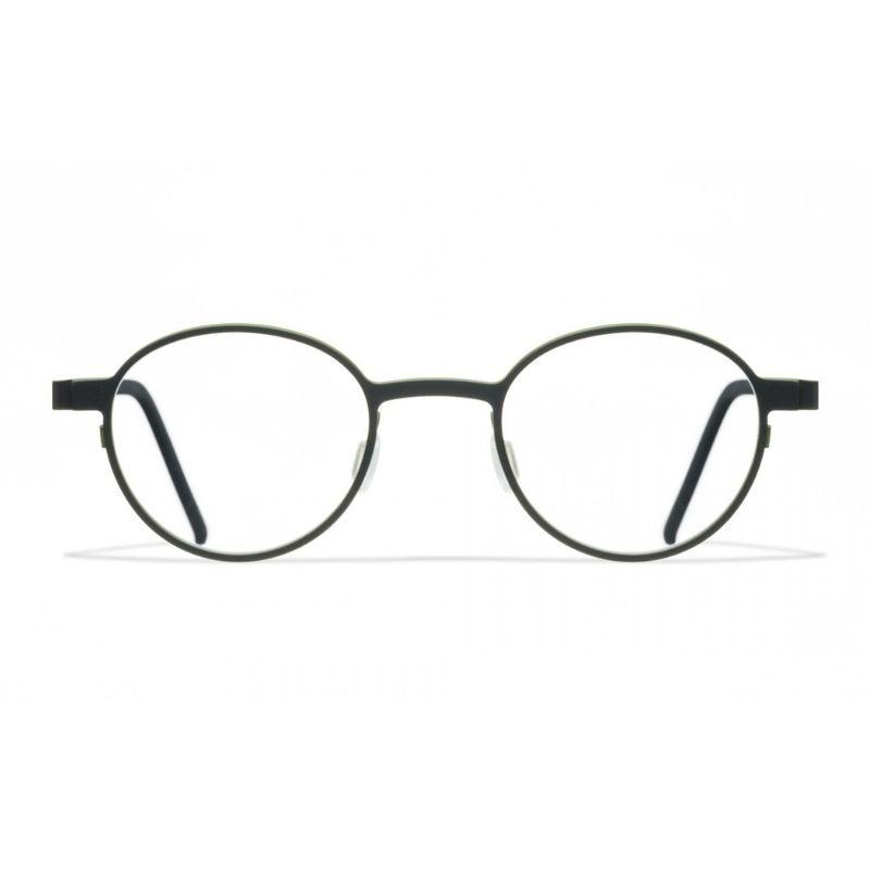 occhiale da vista blackfin modello esbjerg colore nero verde