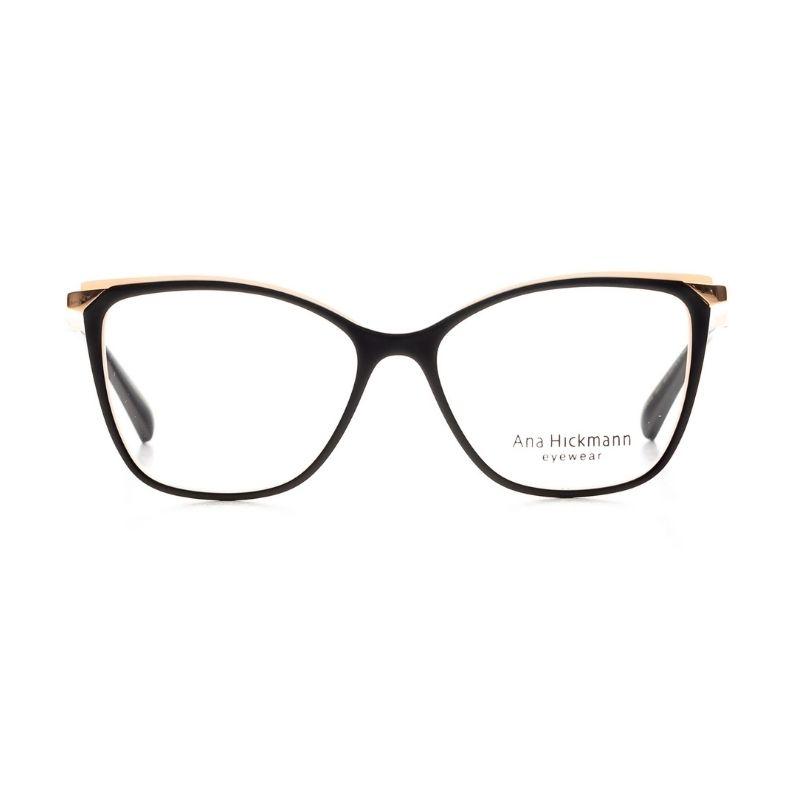 occhiale da vista ana hickmann modello 6414 colore nero