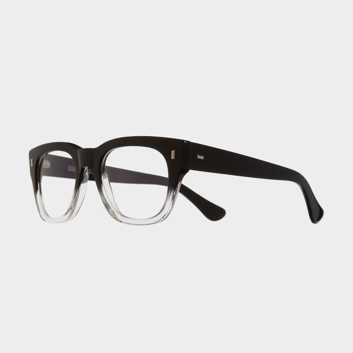 cutler and gross modello 0772v2 nero trasparente