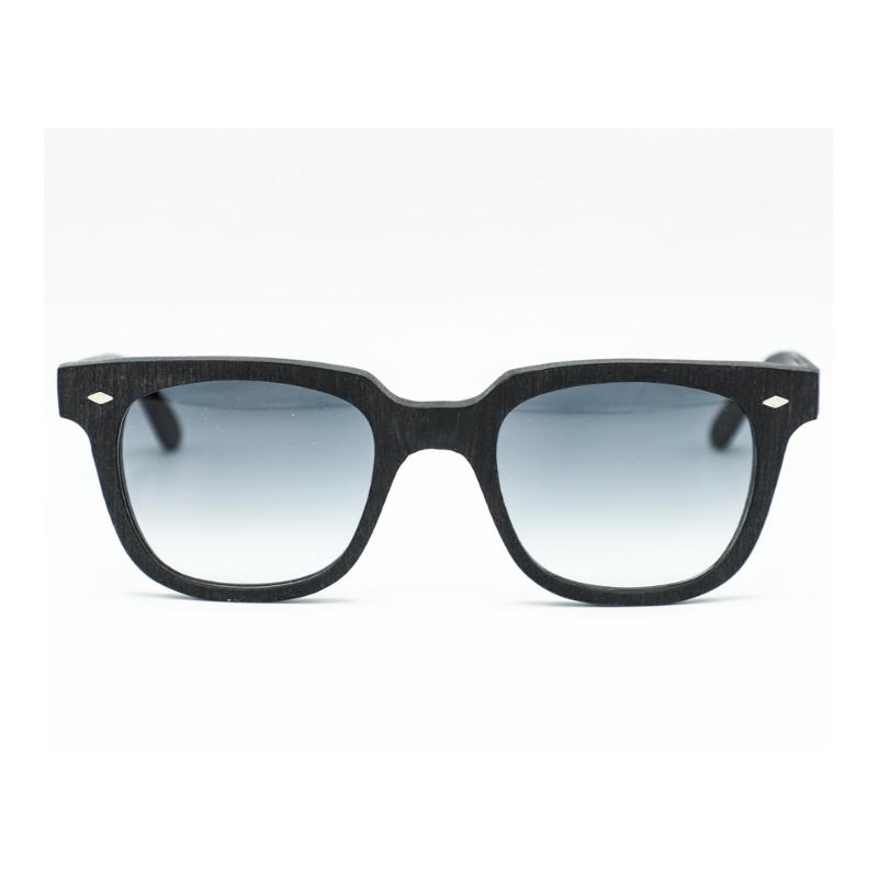 roy thomas occhiale da sole pino colore nero grezzo